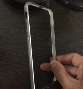 Бампер из алюминия на IPhone 6,6s