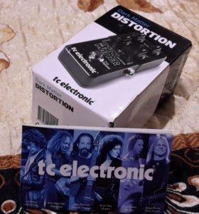 Гитарная педаль tc.electronic дисторшн