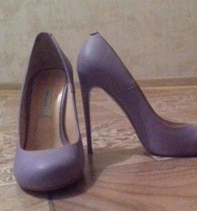 Натуральные кожаные туфли!