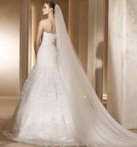 Свадебное платье pronovias Manuel Mota