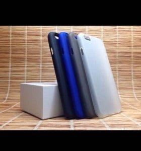 Чехол для iPhone 6/6s матовый, силиконовый