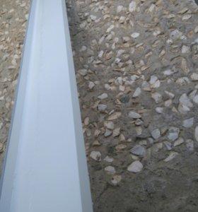 Новые водоотливы под окно, размеры 2000X150 4шт.