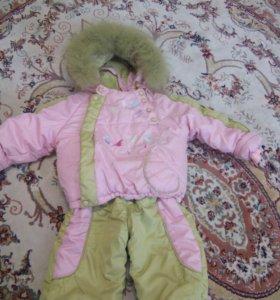 Куртка со штанами (зима)