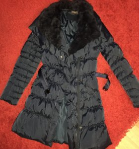Продаётся Куртка-пальто с натуральным мехом