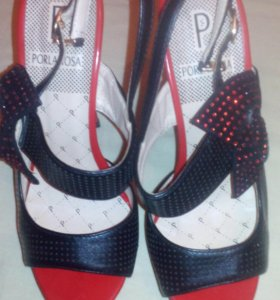 Туфли с баньтиком