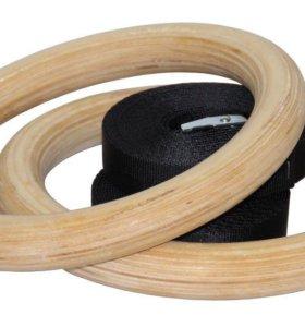 Гимнастические кольца papasport