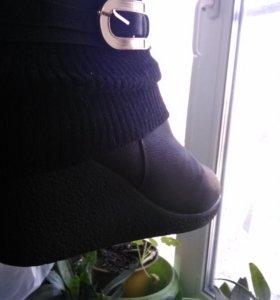 Ботиночки зимние размер 41размер