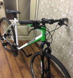 Спортивный велосипед SCODA CROSS SUPERB🚲