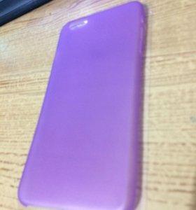 iPhone 6/6s Plus 0.3 мм бампер силиконовый
