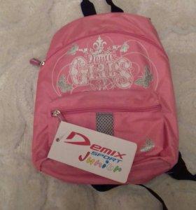 Новый маленький рюкзачок Demix