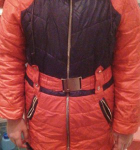 Зимняя, детская куртка, пуховик