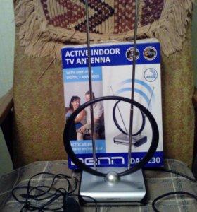 Телескопическая антена для лучшего приема VHF и FM