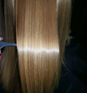 Кератиновое лечение и выпрямления волос