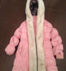 Куртка зимняя на девочку Gulliver