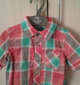 Рубашка на мальчика MOTHERCARE