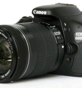 Зеркалка Canon EOS 600D