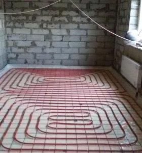 отопление, канализация, водоснабжение, теплый пол.