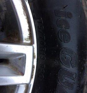 Зимние колеса с дисками