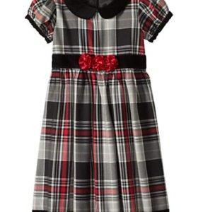Новое нарядное платье Hanna Andersson р.110