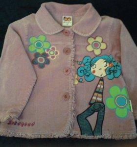 Курточка-пиджак для девочки