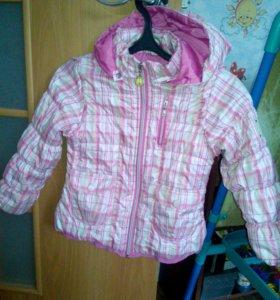 Куртка на девачку