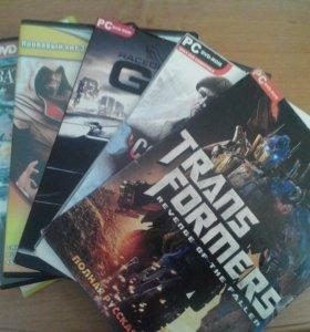 DVD диски  с играми на ПК