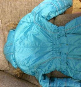 Куртка утеплённая пуховик omny
