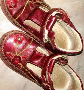Туфельки для девочки (Р-Р 24)
