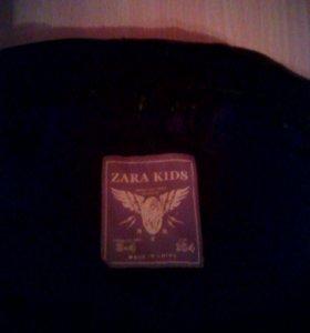 Куртка на девочку 3-4 года .фирма zara kids.