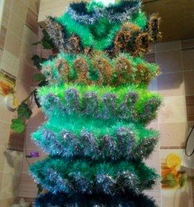 Платье елка на новый год