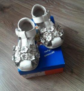 Босоножки сандали Антилопа для девочки 24 размер