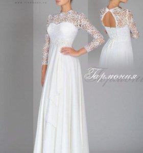 Свадебное платье. Свадебный образ.Айвори.Ампир.