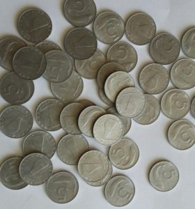 Монеты Италия 1982 год