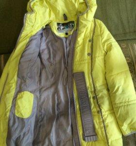 Куртка зима 42р
