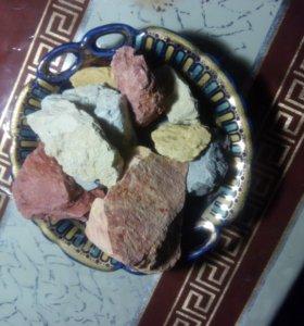 Мел пищевой 300р 14 сортовГлины кусковые 9 сортов