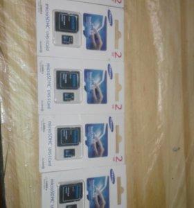 Флеш-карта micro SD 2GB
