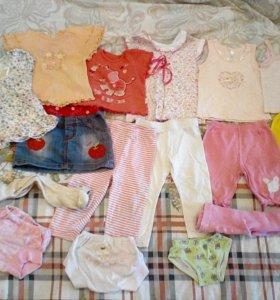 Вещи на девочку 1.5-3 года