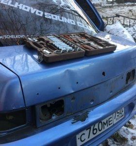 Крышка багажника, бампер 2110