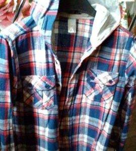 Рубашка с капюшоном для мальчика