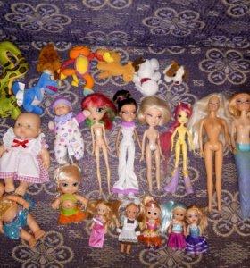 Есть куклы в хорошем состоянии.