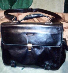 Портфель Piquadro Blue Square CA10662/N/чёрный