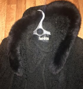 Зимнее женское пальто 54-56