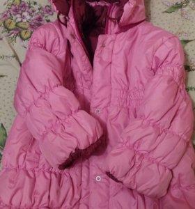 Куртка-пальто,удлиненная, осень-зима(начало весны)