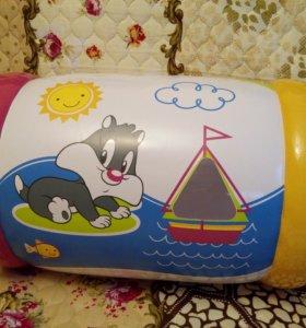 Надувной цилиндр, развивающая игрушка-погремушка