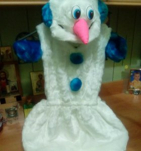Новогодний Костюм снеговика
