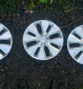 Оригинальные колпаки Citroën r15 3 шт.