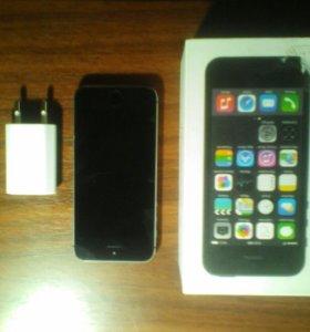 Продам IPhone5s 16g номер телефона 89324838216