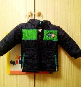 Куртка зимняя осенняя на мальчика