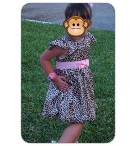 Красивое платье для девочки размер 86-92