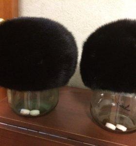 Норковая шапка (беретка)